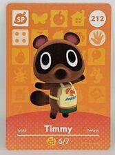 Timmy #008 Animal Crossing Amiibo Card