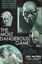 THE MOST DANGEROUS GAME Movie POSTER 27x40 B Joel McCrea Fay Wray Leslie Banks