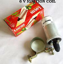 Bobina de encendido MOTO 6v - Reemplaza Lucas ma6- 45150 - presión + CLIP