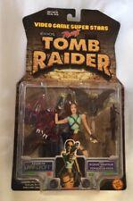 LARA CROFT TOMB RAIDER VIDEO GAME SUPERSTARS TOY BIZ 1997 NIB