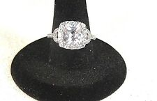 Ring Size 7 Sterling Silver Cubic Zirconia