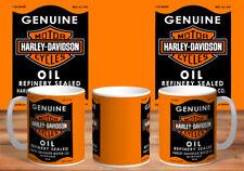 Harley Davidson Motorcycle Oil  Mug Car Mechanic  Coffee Mug,GIFT#1