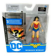 """WONDER WOMAN 4"""" Inch Action Figure DC Heroes Unite 20124373 Spin Master"""