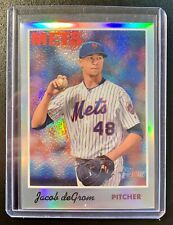2019 Topps Heritage Refractor JACOB DEGROM High Number Refractor Card SP /570