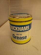 Duckhams grease tin.motor oil. Shell. Esso.BP. garage.