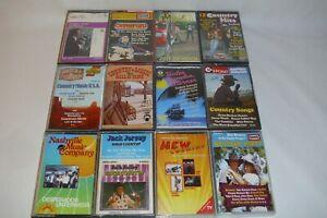 Country Musikkasetten Westernmusik 12St. Sammlung Konvolut