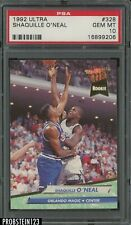1992-93 Fleer Ultra #328 Shaquille O'Neal Orlando Magic RC Rookie HOF PSA 10