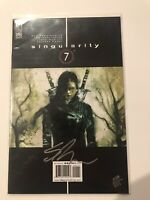 Singularity 7 #1 Dynamic Forces Signed Ben Templesmith W/ COA 348/3000 Sealed