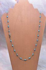 David Yurman Beads Necklace Turquoise