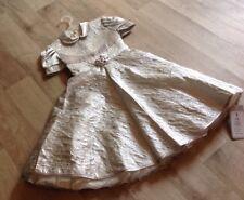 Anna S Kleid Gr.110 (5 Jahre) Silver Neu Mit Etikett