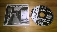CD PUNK Dumpster Pop-Punch The Clown (15) canzone PROMO Moon Ska