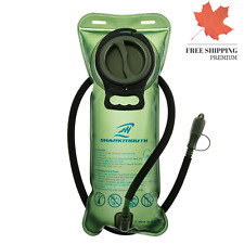 New 2L Hydration Bladder Water Reservoir Pack Leak-Proof Pouch Hiking Camping