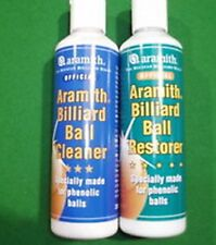 ARAMITH POOL, SNOOKER, PROFESSIONAL BILLIARD BALLS RESTORER & CLEANER POLISH