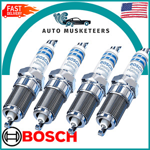 Set Of VW/ For Audi 1.8T Exact OE Bosch Double Platinum Spark Plug 7426