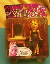 Miss Piggy Muppet Show 25 years action figure NOS 2002