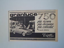 advertising Pubblicità 1963 GRANLUCE VIOTTI 750