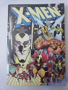 X-MEN THE ASGARDIAN WARS TPB COLLECTION 1988 1ST PRINT MARVEL ILLYANA! LOKI!