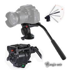 KINGJOY VT-3510 Video Camera Tripod Action Fluid Drag Head for DSLR Camera