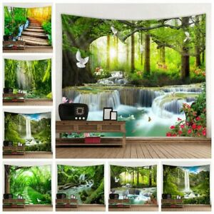 Nature Scenery Tapestry Landscape Wall Hanging Home Blanket Wall Tapestries Deco
