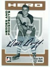 "DICK DUFF ""AUTOGRAPH CARD"" ITG HEROES & PROSPECTS 06/07"