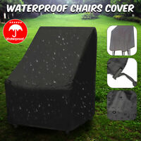 35'' Outdoor Patio Chair Cover Garden High Back Furniture Protection Waterproof