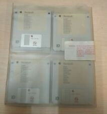 VINTAGE ORIGINAL MACINTOSH LC II KIT 8 DISQUETES 3,5 + MANUAL CONFIGURACIÓN