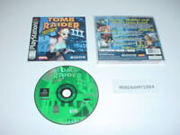 TOMB RAIDER III game (BLACK LABEL) complete in case w/ manual- Playstation / PS2