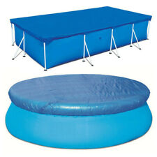 Round/Rectangle Swimming Pool Cover for Garden Intex and Bestway Swimming Pool