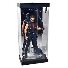 """MB-1 Display Box Acrylic Case LED Light House for 12"""" 1/6th Scale HAWKEYE Figure"""