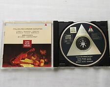 BRUGGEN-BYLSMA-LEONHARDT Italian Recorder Sonatas GERMANY CD TELDEC (1994) Mint