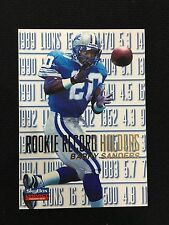 "BARRY SANDERS ""ROOKIE RECORD HOLDERS"" SKYBOX IMPACT 1996 DETROIT FOOTBALL CARD"