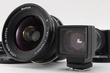 [MINT] Mamiya N 43mm F4.5 L Lens w/Finder,Hood for Mamiya7 7II from Japan #68680