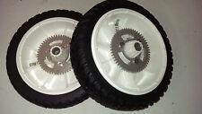 "2 Drive Wheels 105-3036 Toro Lawnmower Lawn Mower Rear Tires 22"" OEM"