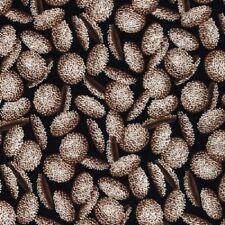 I Spy Candy Jar Quilt  Fabric CHOCOLATE NONPAREIL FABRIC   6 X 9 iNCH Novelty