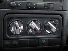CHROME HEAT AIR BUTTONS KNOBS JOM FULL SET - CLASSYfor VW MK3