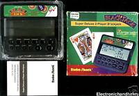 RADIO SHACK DELUXE 2 PLAYER BLACKJACK HANDHELD LCD GAME TWO PERSON VIDEO GAME