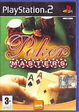 POKER MASTERS (2004) PS2 ORIGINALE USATO CON LIBRETTO