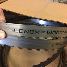 "INCA 3//4/"" X 3 TPI X 89 1//2/"" BandSaw Blade Swedish Silicon Steel thin kerf 0.025/"""