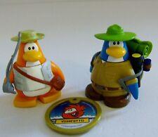 Disney Club Penguin Camping & Fishing Figures