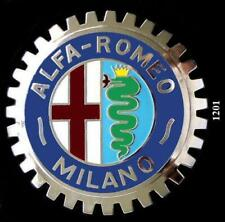 ALFA ROMEO AUTOMOBILE GRILLE BADGE EMBLEM