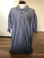Antigua Chicago White Sox Polo Shirt Gray Sz L
