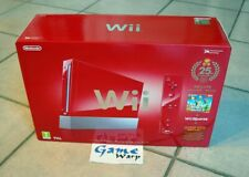 Console NINTENDO Wii 25TH Anniversary Mario Red Edition - PAL - BRAND NEW