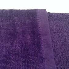 12 NEW PURPLE TERRY VELOUR FINGERTIP GOLF HAND TOWELS 11X18 HEMMED SOFT