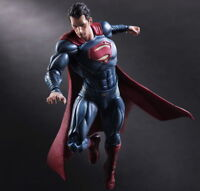 Superman Action Figure Play Arts Kai Dawn of Justice Toy Doll Model Collect
