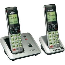 VTech 2 Handset Cordless Phone System with Caller ID and Call Waiting-CS6619-2