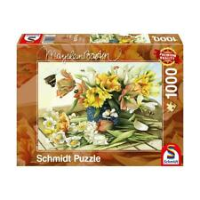 Schmidt rompecabezas 1000 piezas vernales de Marjolein Bastin. Rompecabezas de flores