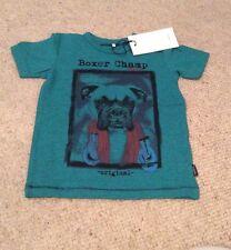 Baby Boys Name It Boxer Dog T-Shirt 9-12 Months BNWT