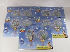 """Pack of 5 Disney Pixar Toy story 26"""" Clear Helium Balloons Buzz Lightyear Woody"""