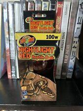 New listing Zoo Med Laboratories Nightlight Red Reptile Bulb | 100 Watt 100W