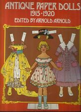 Antique Reproductions Paper Dolls Booklet- 1915-1920